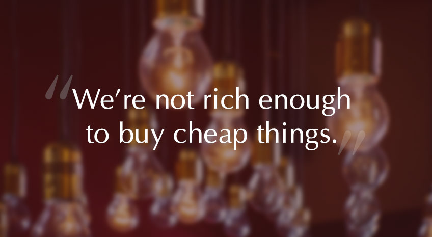 Quotes On Cheap Mentality