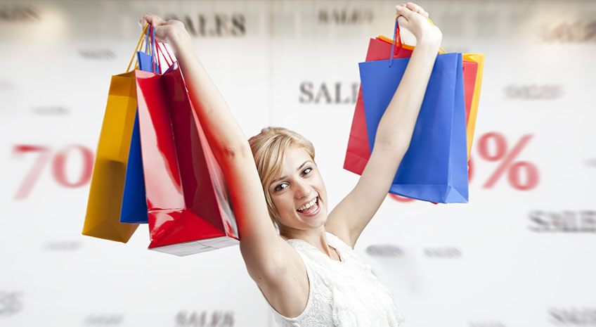 You who are discounted shopping, actually have these cool skills