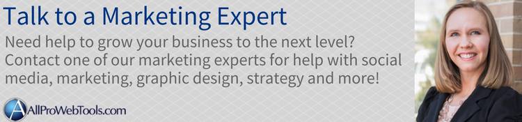 talk to an allpro marketing expert